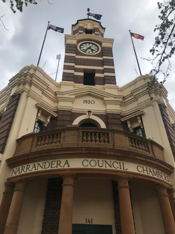Narrandera Council Chambers