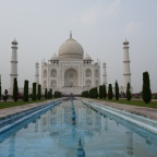 The three highlights of Agra:  the Taj Mahal, the Agra Fort and Fatehpur Sikri