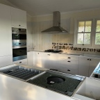 Highgrove living; kitchen renovation, the cabinets and appliances are in